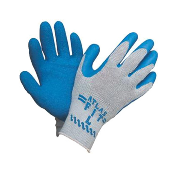 Original Atlas Fit Blue Palm Grip Gloves