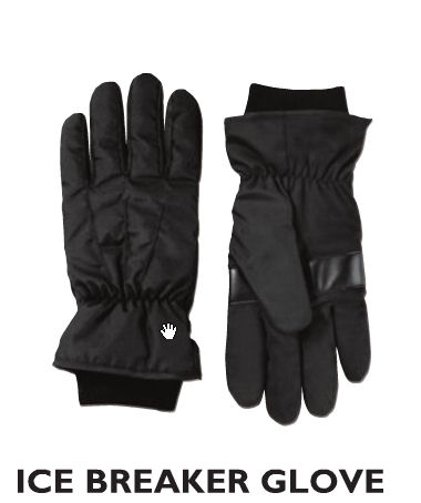 ICE BREAKER GLOVE, Black