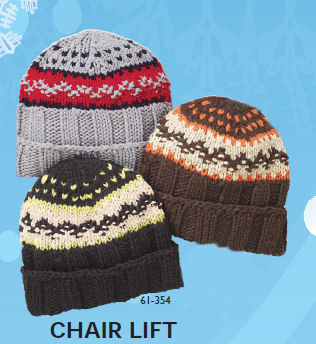 Chair Lift - Multi Knit Cap