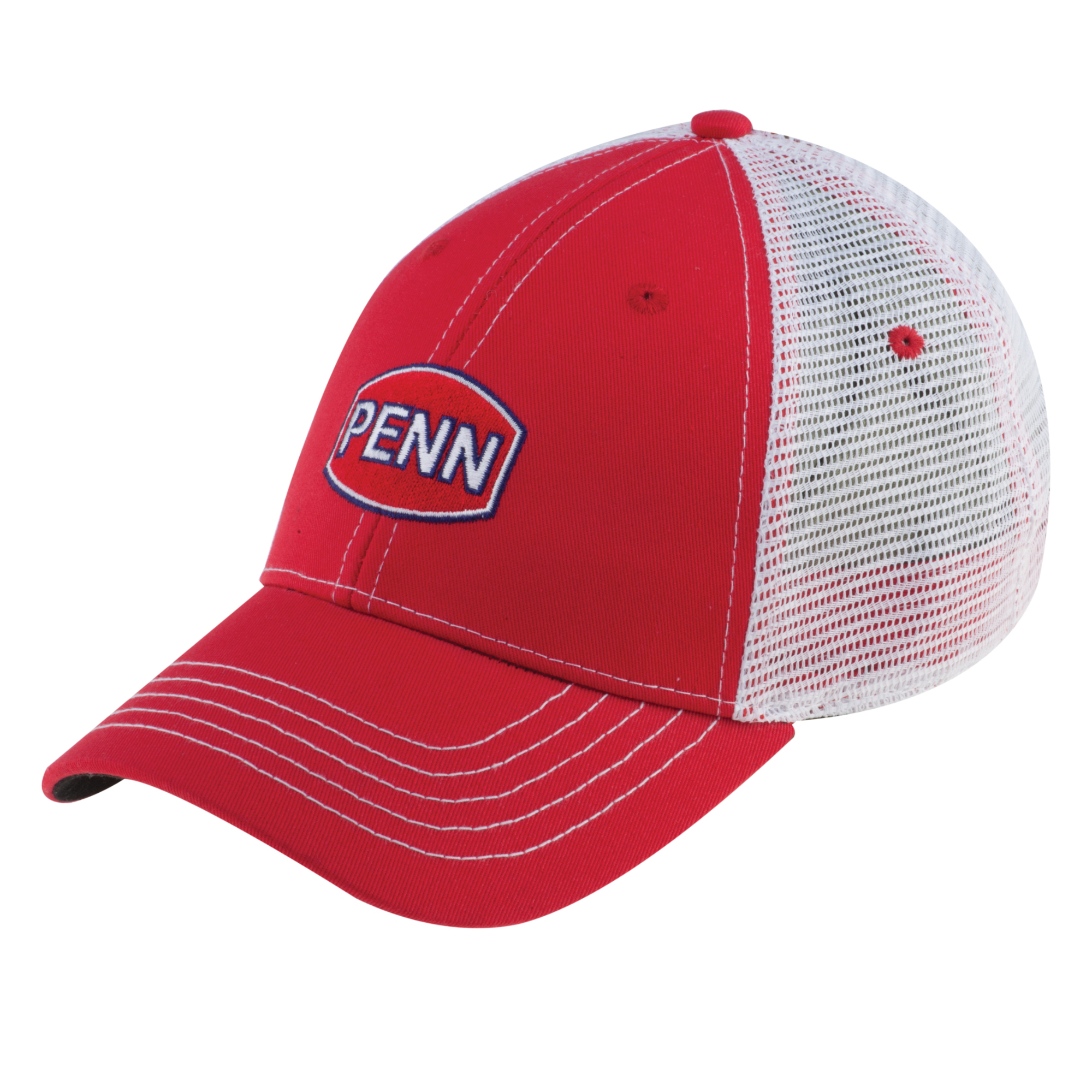 Penn Hat With White Mesh Backing