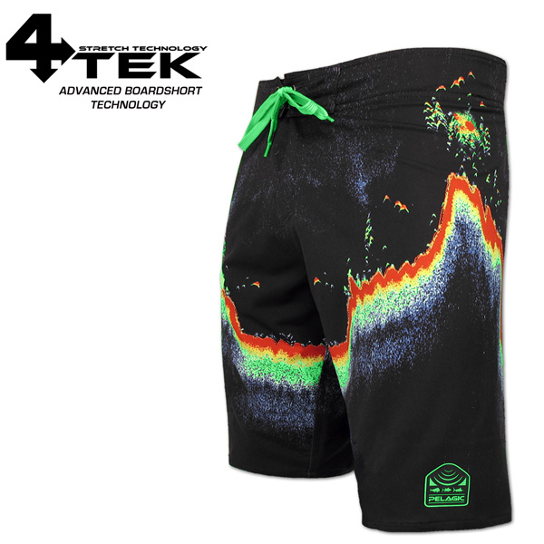 4-Tek Boardshort - Fish Finder
