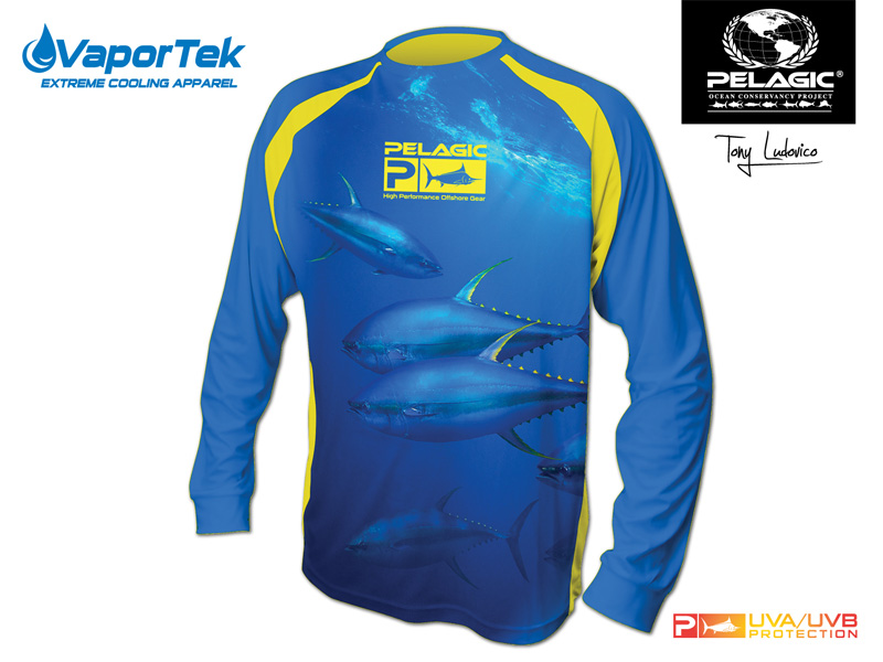 Vaportek L/S Yellowfin Tuna
