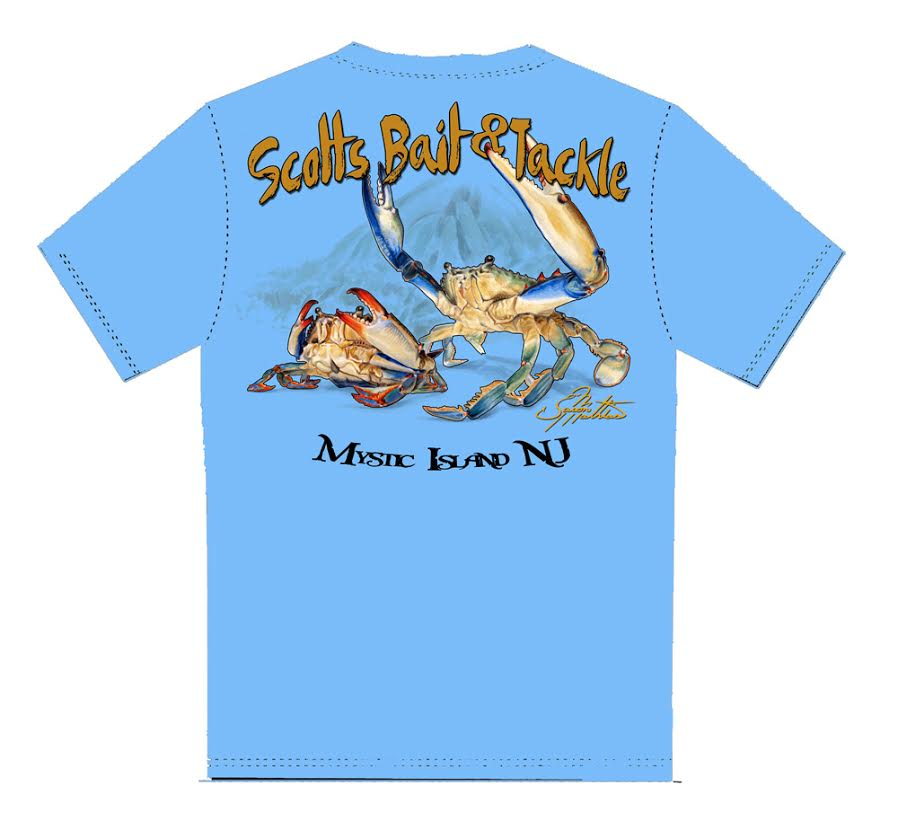 Scott's Blue Crab T-Shirt