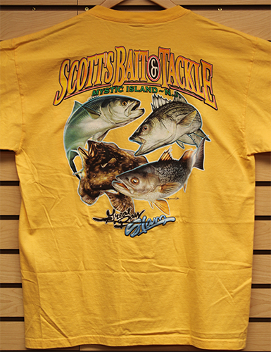 Scott's Great Bay Slam Tee with Pocket