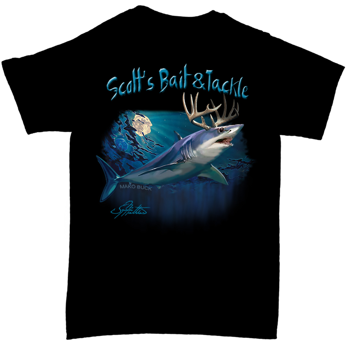 Scott's Signature MakoBuck T-Shirt