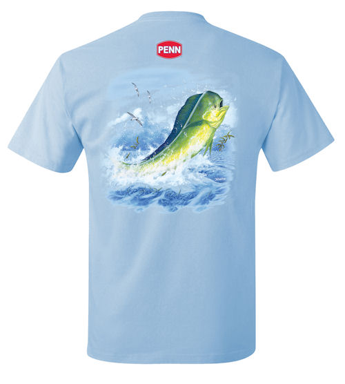 PENN® Casual Tee Dolphin In The Weeds