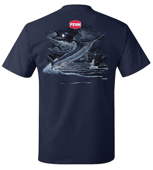 PENN® Casual Tee Moonlit Swordfish