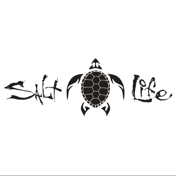 Salt Life Signature Turtle Decal