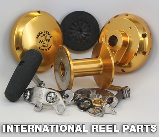 pennparts homepage, Fishing Reels