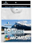 ICEtex WOMENS Dual Face Fleeced HydroPur Raschel Knit Performance Thermal: LS SHIRT