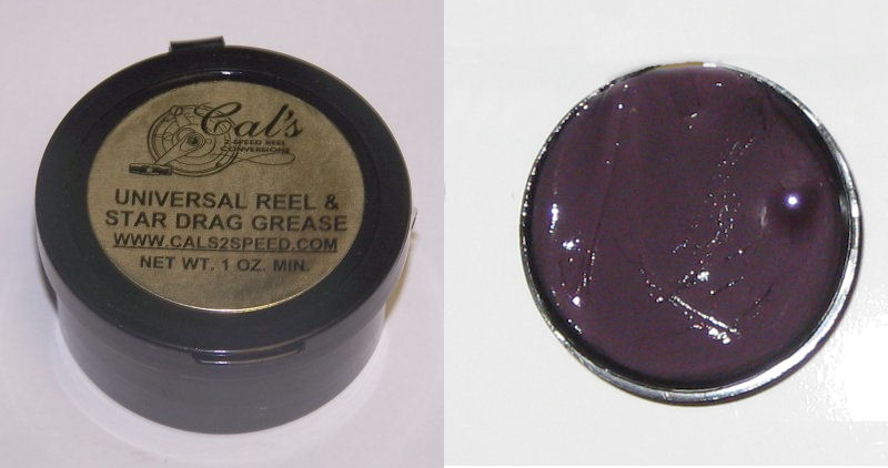 Cal's Universal Grease, Purple, for Smaller Reels, Colder Climates (1 Ounce)