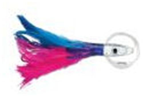 Williamson Pink/Blue Albacore Feather Rigged