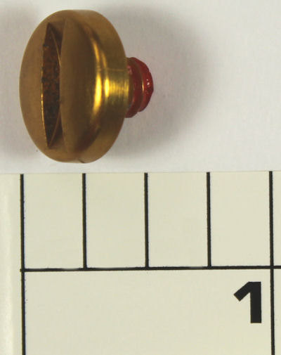 112-100LD Lever Knob Screw (Gold)