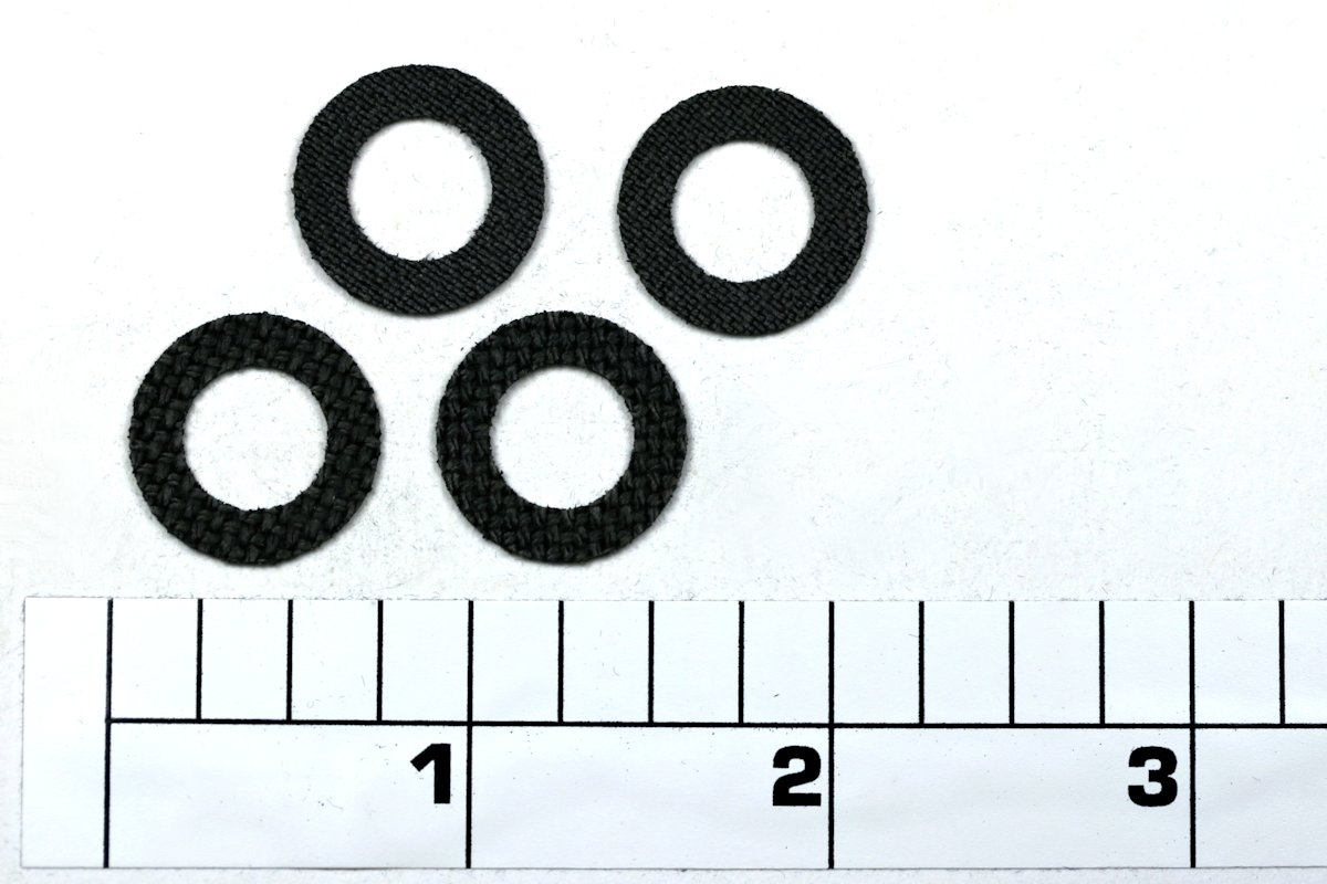 6-155SD Set, Drag Washers, CARBONTEX by SmoothDrag (Custom)