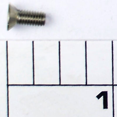 23-2.5FR Screw, Handle Post Screw (#6-40x.375 hex flat hd ss)