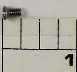 32-525MAG2 Screw, Handle Nut Cap Screw, Raised Countersunk Straight Head (#5-40, .250 in. overall, thread .155 in. long)