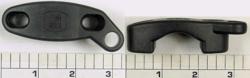 33-114H2 Clamp, Rod Clamp, Graphite with ring