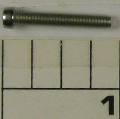 38-340 Screw, Plate, Handle Side Plate Screw, Short (uses 3)
