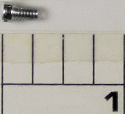 39-10 Screw, Short, Pan Head, Die Point (.303 in. overall, thread .215 in. long)