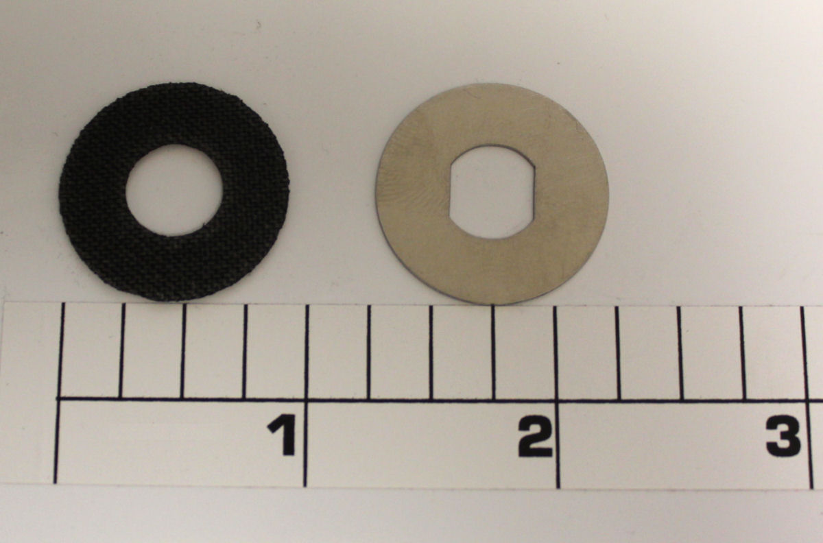 4-500SPBY Set: Thin SS washer and 0.76 Carbontex washer (use with 98-60AT or 98-505AT)