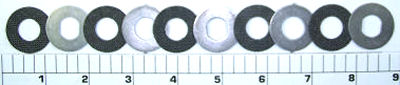 6-113HSP Kit, Drag Washers HT-100&#8482 with Metals Complete Kit 11pcs