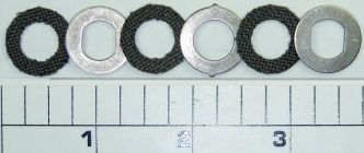 6-155SP Kit, Drag Washers, Drag Washer Kit HT-100™ with Metals (6 pcs)