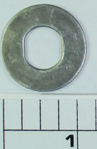 86-115L Washer, Drag, Metal, Round Keyed Metal Drag Washer ONLY