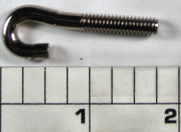 99-116 Hook Screw, upper part of harness, LH threading, long  (1.773 in)