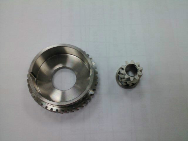 P316113H401 Custom Stainless Steel 4:1 High Speed Gear Set (Optional)