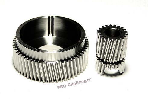 P316115L301 Custom Stainless Steel 2.8:1 High Speed Gear Set (Optional)
