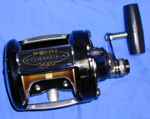 Penn 24KG Formula Graphite Two Speed Lever Drag Reel