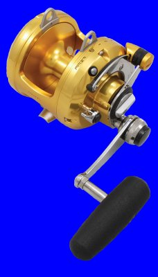 50VSX International V Series Two-Speed Lever Drag Reel
