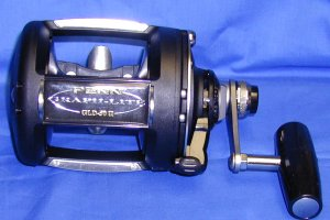 Penn GLD50ii Graph-Lite Two Speed Lever Drag Reel
