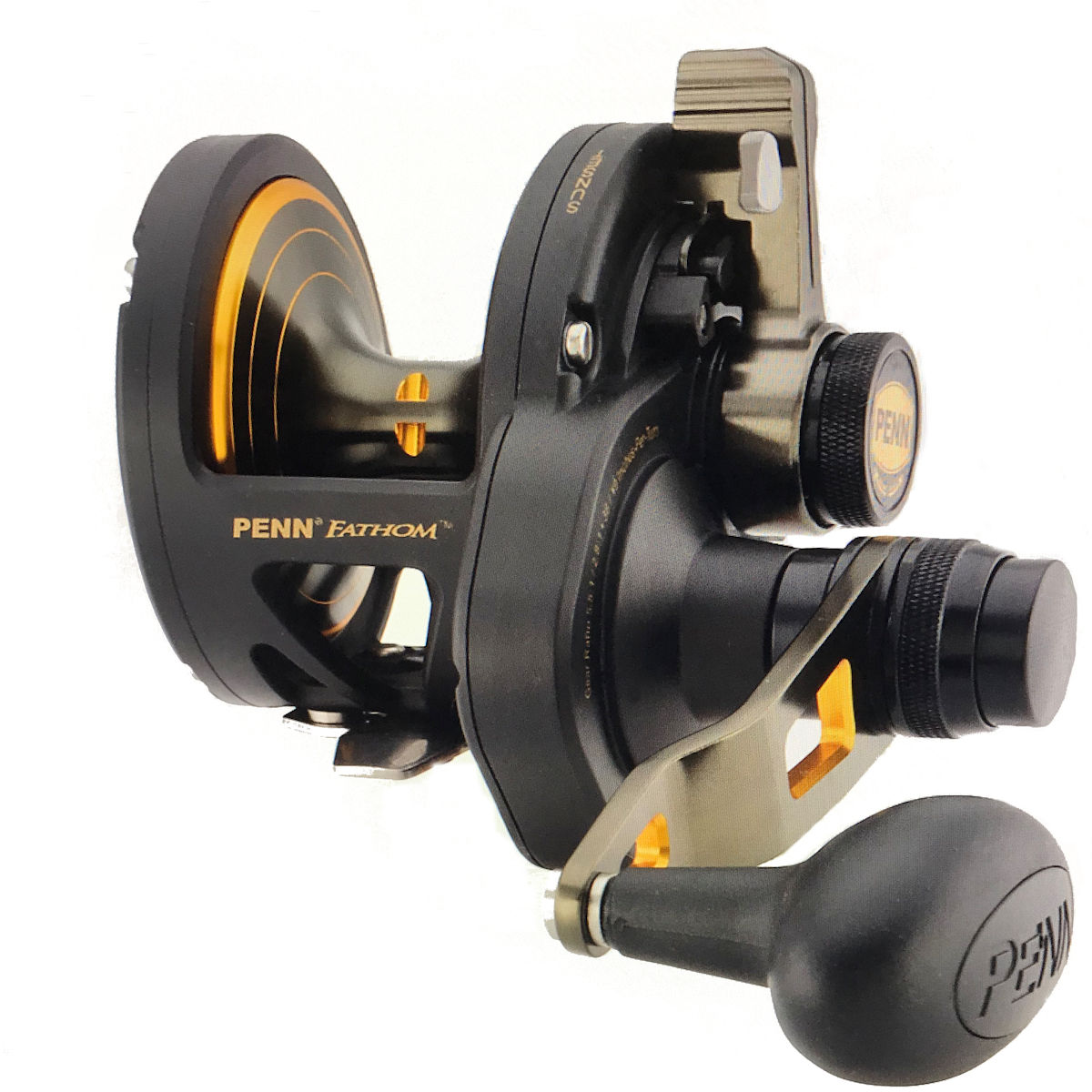 Penn FTH30LD2LH Fathom Left Hand Lever Drag 2-Speed Reel