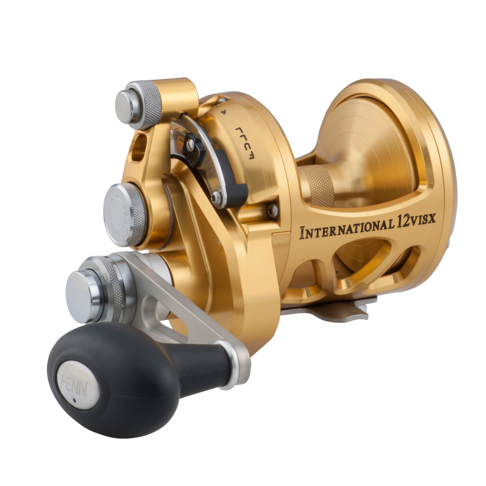Penn 12VISX Gold International VISX 2-Speed Reel