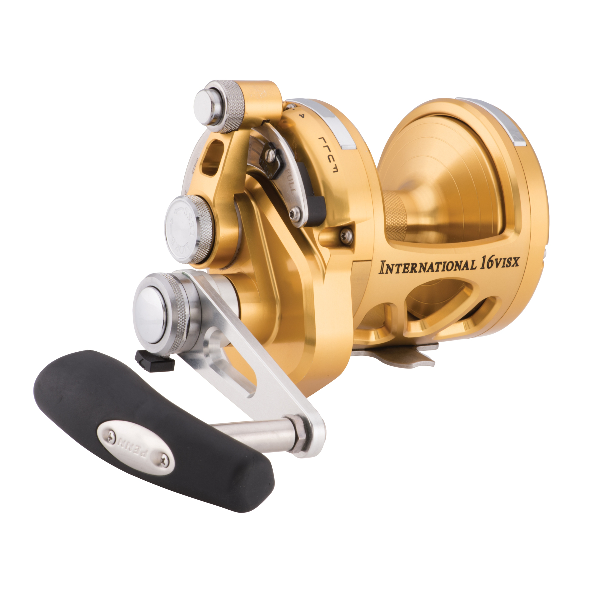 Penn 16VISX Gold International VISX 2-Speed Reel