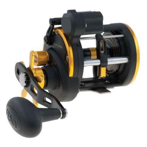 Penn SQL20LWLC Line Counter Squall Level Wind Reel