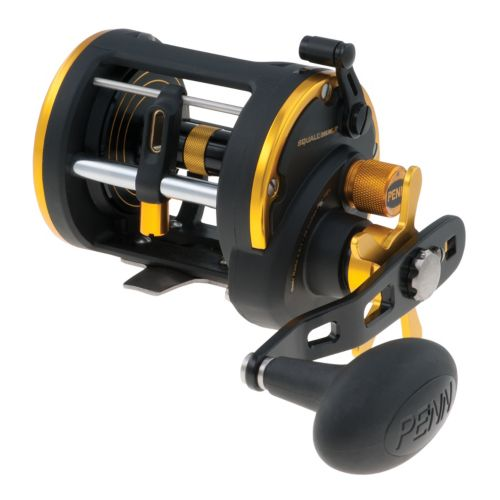 Penn SQL20LWLH Left Hand Squall Level Wind Reel