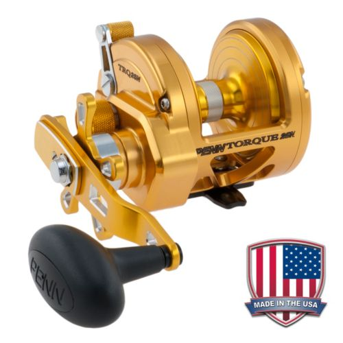 Penn TRQ15 Gold Torque Star Drag Reel