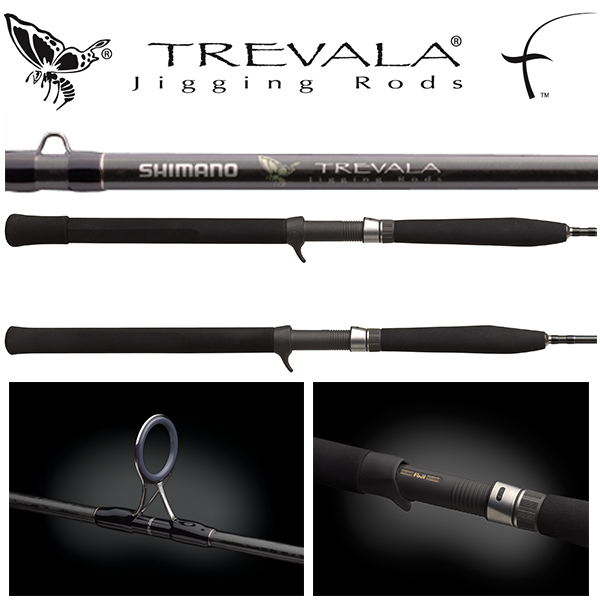 "TVC60H	6'0"" 65-200lb 1pc Trevala Butterfly Jigging Conventional Rod"