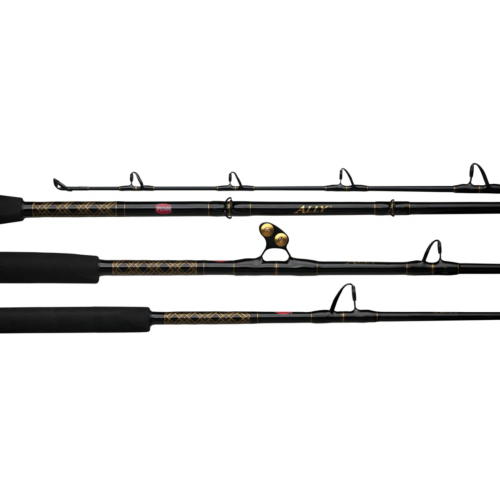 "ALLBW2050C66 6'6"" 20-50lb 1pc Ally Conventional Boat Rod"