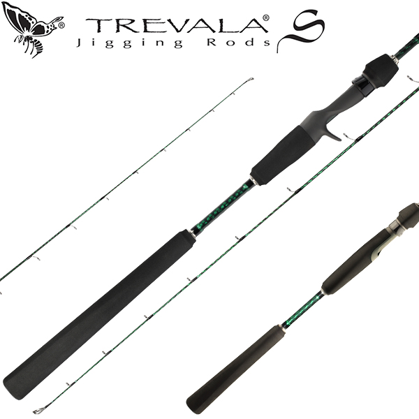 "TVSC63ML Trevala S Rod Casting 6'3"" Med. Light"